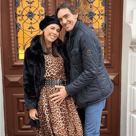 Giba e Maria Luiza Daudt - Reprodução/Instagram