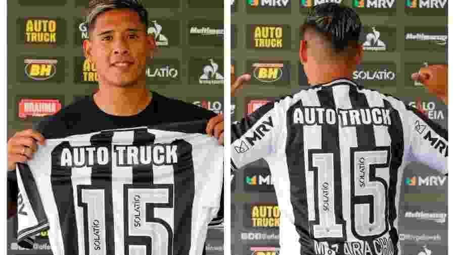 Matías Zaracho escolheu o número 15 para homenagear amigo Lisandro López - Bruno Cantini/Atlético-MG