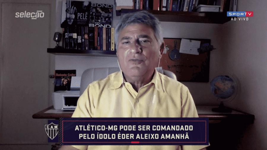 Cléber Machado, narrador do Grupo Globo - Reprodução/SporTV