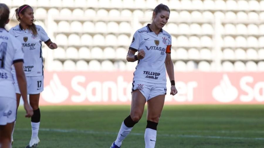 Corinthians vence El Nacional-EQU por 16 a 0 na estreia da Libertadores Feminina - Reprodução/Twitter/Corinthians