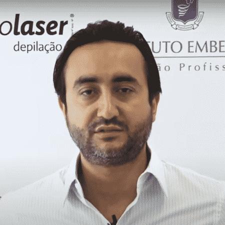 Ygor Moura é um dos donos da empresa EspaçoLaser - Reprodução - Reprodução