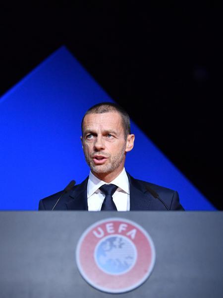 Aleksander Ceferin, presidente da Uefa - Harold Cunningham - UEFA/UEFA via Getty Images