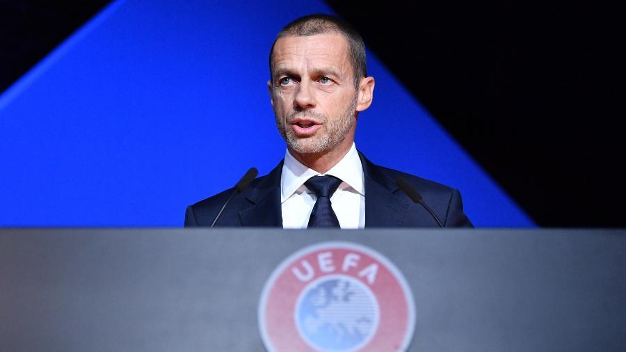 Aleksander Ceferin, presidente da Uefa, descarta sanções contra times fundadores da Superliga - Harold Cunningham - UEFA/UEFA via Getty Images