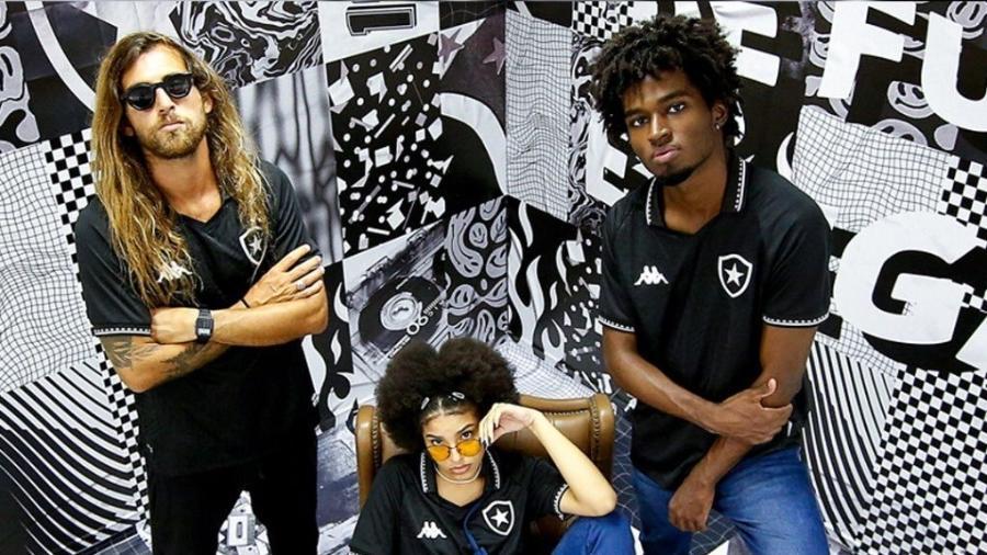 Botafogo e Kappa lançam novo uniforme II para a temporada 2021 - Reprodução Twitter Botafogo