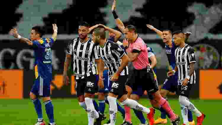 Gol do Boca anulado - EFE/ Bruna Prado /POOL - EFE/ Bruna Prado /POOL