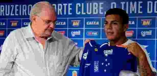Expectativa por Romero é grande, mas Deivid pretende promovê-lo aos poucos no time - Washington Alves/Light Press