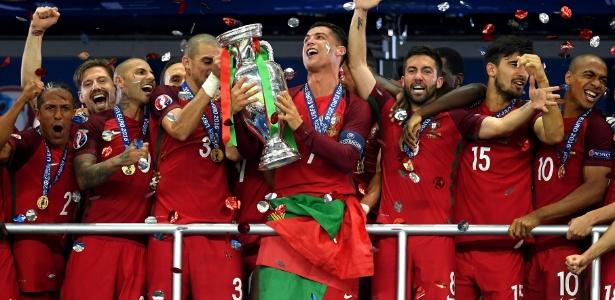 Cristiano Ronaldo buscará mais um título com a seleção portuguesa