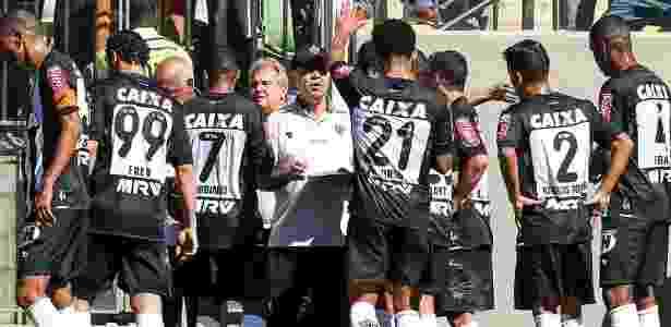 Parada para hidratação ocorre nos dias de muito calor - Bruno Cantini/Clube Atlético Mineiro