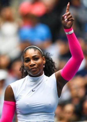 Serena Williams parafraseou Martim Luther King para se posicionar sobre tensão racial  - AFP PHOTO / EDUARDO MUNOZ ALVAREZ