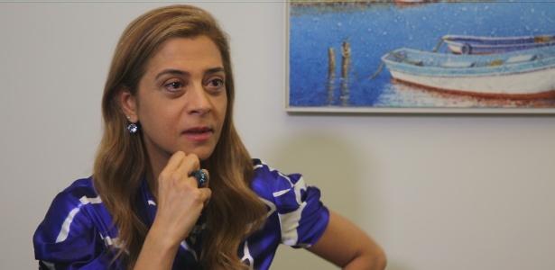 Leila Pereira, dona da Crefisa e conselheira do Palmeiras