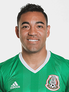 Marco Fabián, meia do México