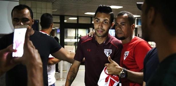 Petros tem 14 partidas com a camisa do São Paulo