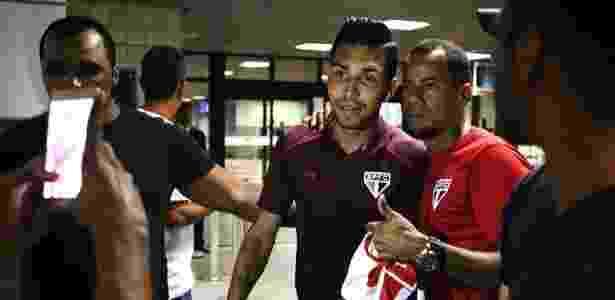 Petros tem 14 partidas com a camisa do São Paulo - Rubens Chiri/saopaulofc.net