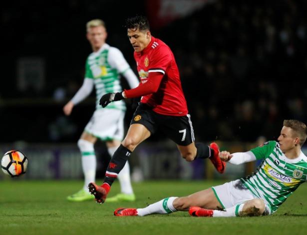 Alexis Sánchez faz a estreia pelo Manchester United