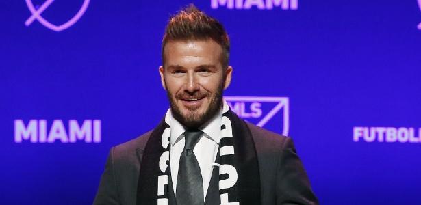 O ex-jogador inglês David Beckham já é dono de um clube na Major League Soccer -  AFP PHOTO / RHONA WISE