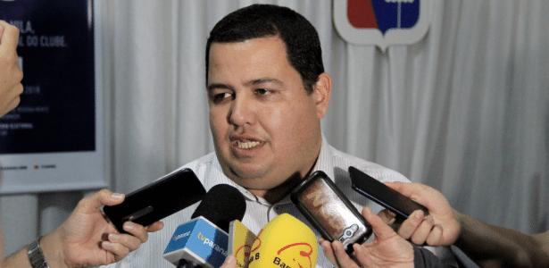 Leonardo de Oliveira segue na presidência do Paraná até 2021 - Guilherme Augusto/Site oficial Paraná