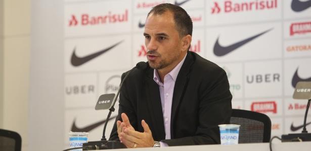 Rodrigo Caetano, diretor executivo de futebol do Inter, acredita em recuperação do clube