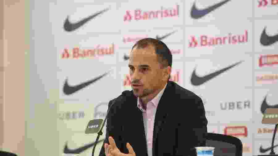 Rodrigo Caetano, diretor executivo de futebol do Inter, é uma das opções no Palmeiras - Ricardo Duarte/Inter