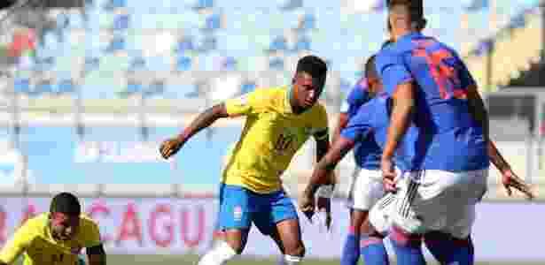 Brasil e Colômbia ficaram no 0 a 0 - divulgação/Sul-Americano sub-20
