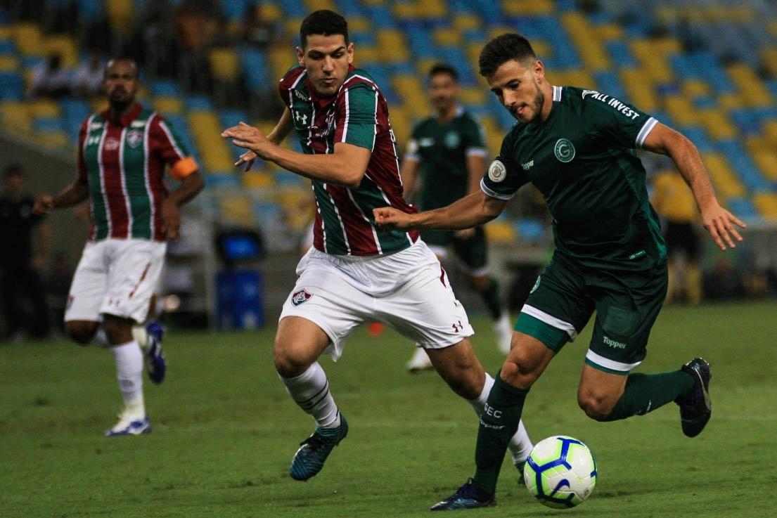 Fluminense x Goiás em partida pelo Campeonato Brasileiro 2019
