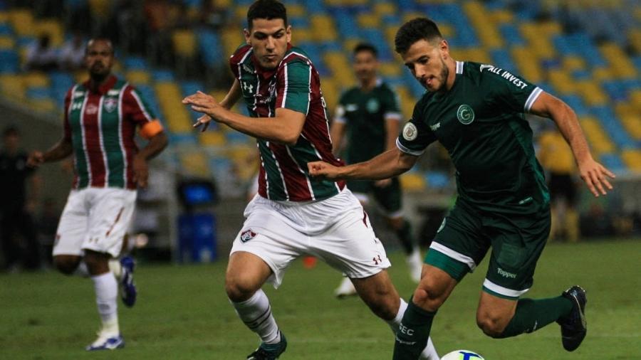 Fluminense x Goiás em partida pelo Campeonato Brasileiro 2019 - Jotta de Mattos/AGIF