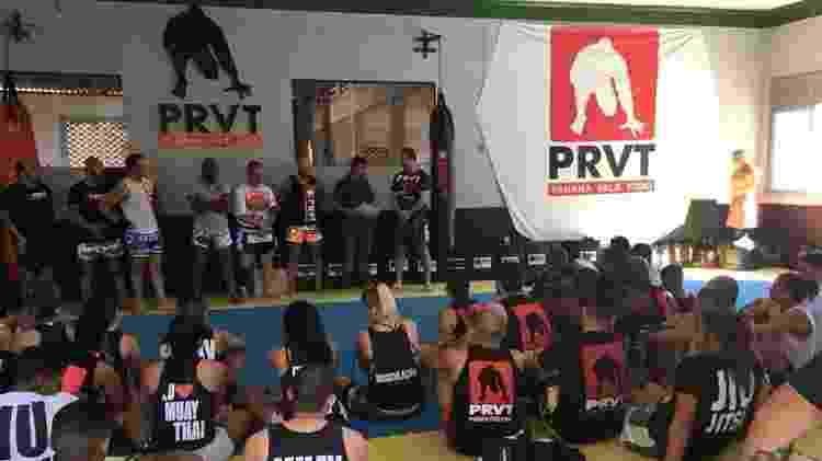 Academia PRVT - Paraná Vale Tudo saiu de zembra para referência do MMA feminino no Brasil - Facebook / Gilliard Paraná