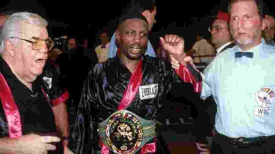 Pernell Whitaker, ex-campeão mundial de boxe - The Ring Magazine via Getty Images