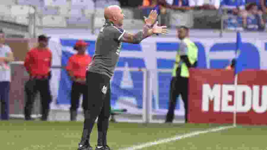 Santos, de Jorge Sampaoli, é o líder do Campeonato Brasileiro - Ivan Storti/Santos FC