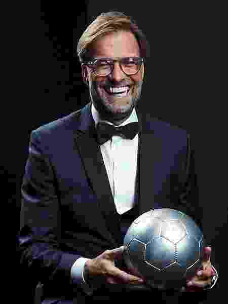 Jurgen Klopp na premiação The Best - Michael Regan - FIFA/FIFA via Getty Images