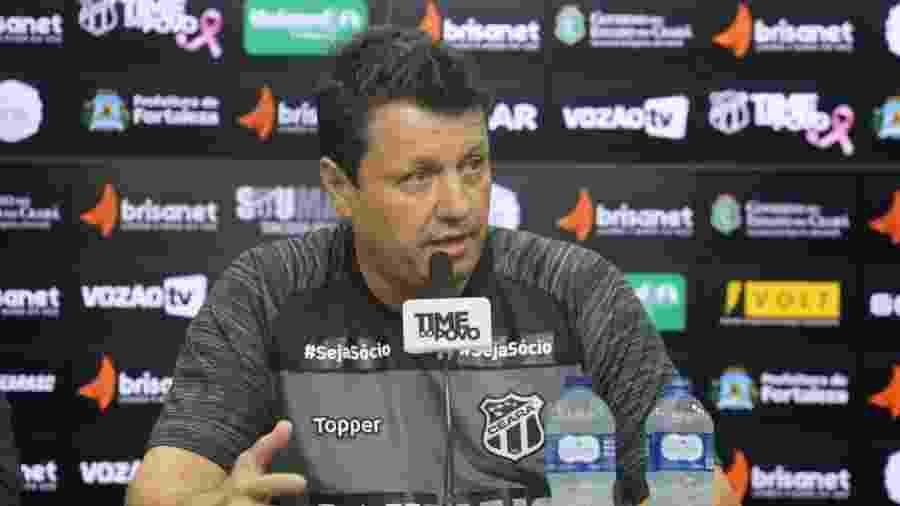 Adilson Batista, técnico do Ceará - Divulgação