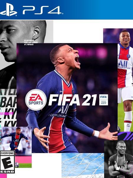 Mbappé na capa do Fifa 21; jogo é atração do Futebol Muleke na Twitch e no TikTok - Reprodução/EA Sports