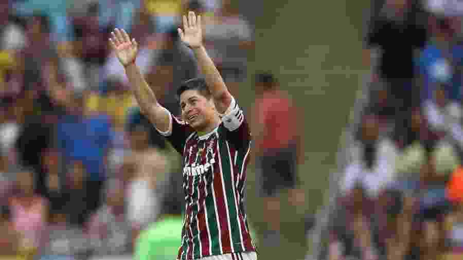 Conca foi cortado de foto da conquista do tri do Brasileiro do Fluminense - Matheus Andrade/Photocamera