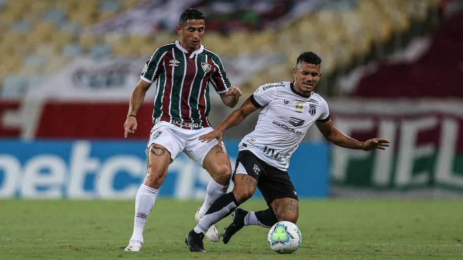 Ceará e Fluminense se enfrentam nesta segunda-feira, na Arena Castelão (CE), pela 36ª rodada do Brasileiro - Lucas Merçon / Fluminense F.C