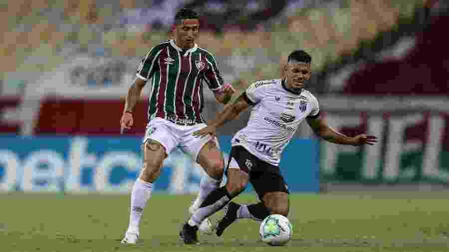 Ceará vem de empate por 2 a 2 com o Fluminense pelo Brasileirão - Lucas Merçon / Fluminense F.C