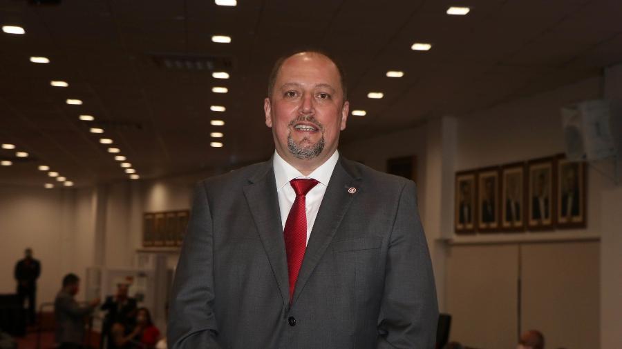 Alessandro Barcellos, presidente do Internacional, em cerimônia de posse - Ricardo Duarte/Inter