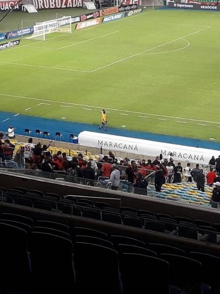 Convidados do Flamengo em final contra o Fluminense no Maracanã - Alexandre Araújo/UOL