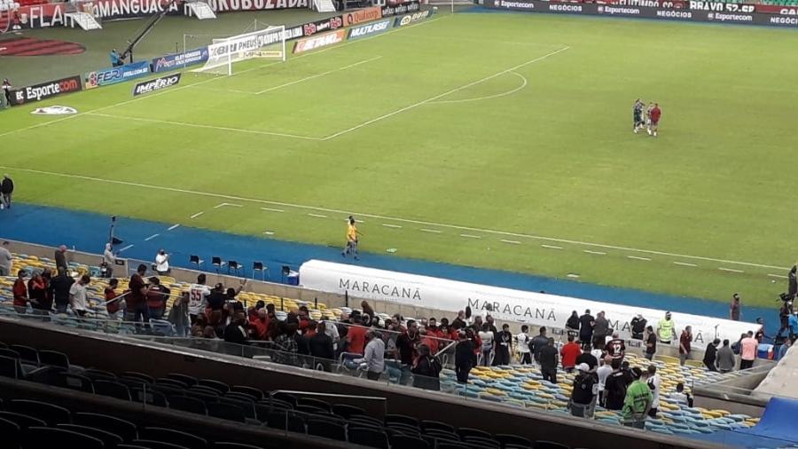 Torcida do Flamengo em final contra o Fluminense no Maracanã - Alexandre Araújo/UOL
