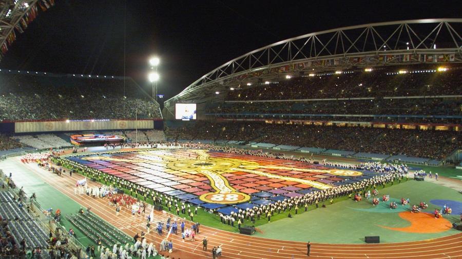 Estádio Olímpico de Sydney, em 2000 - Nick Wilson/Getty Images
