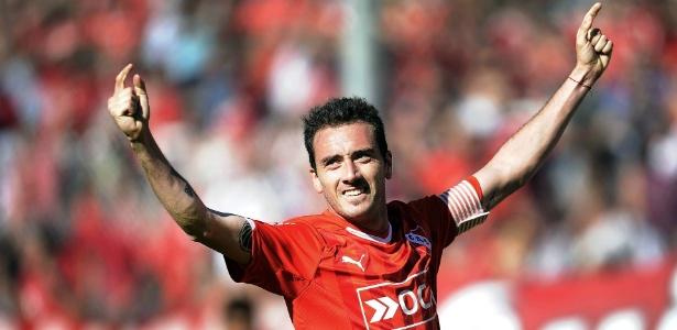 Torcedor fanático do rival Independiente, Mancuello já usou a 23 para provocar o Racing - Divulgação / Independiente