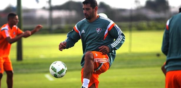 Diego Souza está regularizado e poderá estrear no Campeonato Carioca na quinta-feira