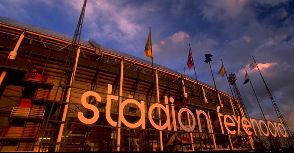 De Kuip Stadium, em Roterdã, na Holanda