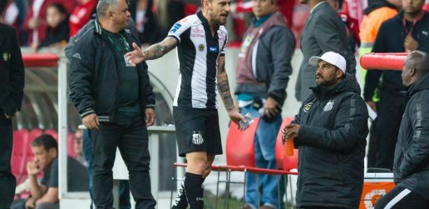 Santistas não engoliram a última partida disputada contra o Inter no estádio Beira-Rio