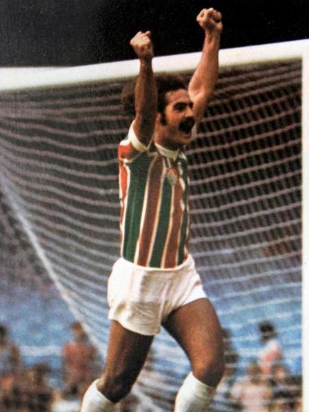 Roberto Rivellino em ação com a camisa do Fluminense - Reprodução