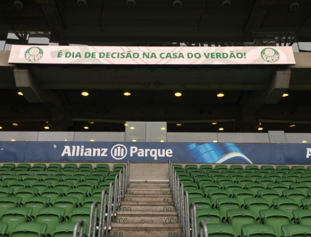 Allianz Parque terá novas placas de led a partir do jogo desta segunda-feira - Divulgação