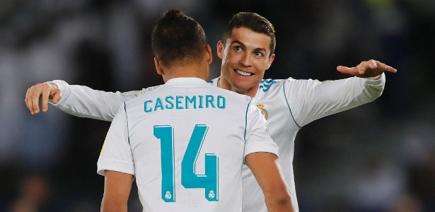 Cristiano Ronaldo comemora gol na final do Mundial de Clubes