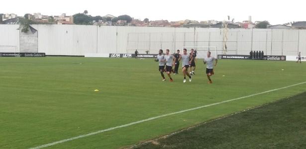 CT Joaquim Grava, onde trabalha o time profissional do Corinthians, é alvo de ação