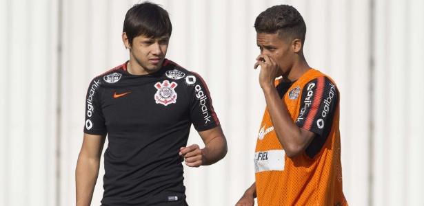 Segundo Osmar Loss, Romero e Pedrinho disputam vaga na ponta-direita do Corinthians - Daniel Augusto Jr/Agência Corinthians