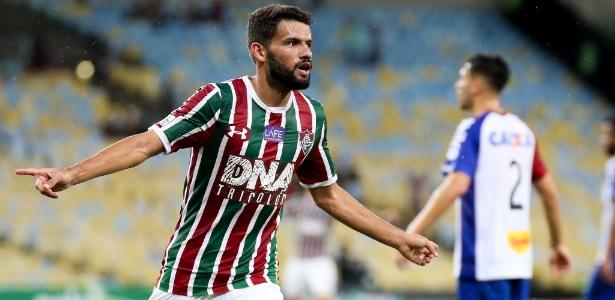 Jadson, hoje no Fluminense, interessa ao Cruzeiro. Negócio precisa de aval da Udinese - LUCAS MERÇON / FLUMINENSE F.C.