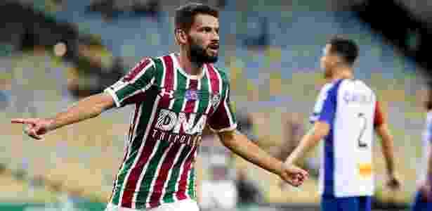 Volante Jadson deve ser o primeiro reforço anunciado para a temporada 2019 do Cruzeiro - LUCAS MERÇON / FLUMINENSE F.C.