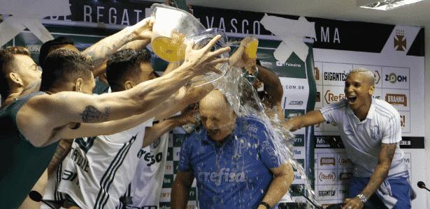 Técnico do Palmeiras teve aproveitamento superior a 80% no Brasileirão - Cesar Greco/Ag Palmeiras/Divulgação